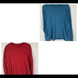 2 Polo By Ralph Lauren Long-sleeved Shirts